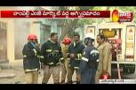 Fire breaks out at Mozamjahi market in Hyderabad
