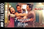 Baaghi 3 Movie - Faaslon Mein Video Song