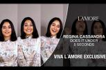 Viva L'Amore Exclusive: Regina Cassandra Does It Under 5 Seconds!