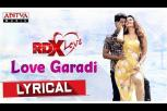 Love Garadi Lyrical - RDXLove Song