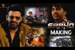 The Making Of Saaho - Prabhas, Shraddha Kapoor
