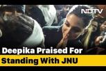 Trending on social media: Heroine Deepika Padukone praised for standing with JNU
