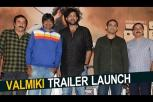 Valmiki trailer launch event