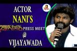 Actor Nani's Gang Leader movie press meet in Vijayawada