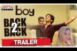 Boy Telugu movie back to back trailers - Lakshya Sinha, Sahiti, Amar Viswaraj