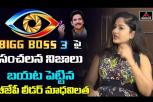 Madhavi Latha comments on Bigg Boss 3 Telugu