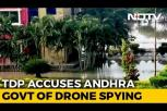 Use of drone cameras around Chandrababu's home sparks political row