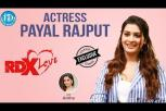 RDX Love Actress Payal Rajput Exclusive Interview