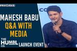 Mahesh Babu Q&A with Media - The Humbl Co. Launch Event -The Humbl Co Launch