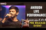 Anirudh Splendid live performance - Nani's Gang Leader pre-release event