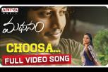 Choosa Full Video Song - Madhanam Movie