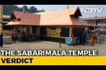 On Sabarimala, SC refers issue of women entry to larger bench