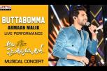 Butta Bomma Song Live Performance By Armaan Malik - AlaVaikunthapurramuloo Musical Concert