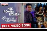 Nee Romba Romba Full Video Song - Ooranthaa Anukuntunnaru Movie