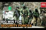 Big win for Security Forces as IED Specialist Munnai Lahori killed in Shopian