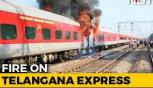 Fire breaks out In Hyderabad-Delhi Telangana Express, passengers safe