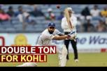 Kohli Breaks Record : Virat Slams Double Ton in Pune test agaisnt South Africa