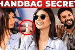 Supermodel Sameena handbag secrets revealed! | What's inside the HANDBAG