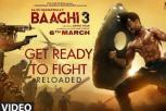 Baaghi 3 Movie - Get Ready to Fight Reloaded Video