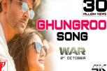 Ghungroo Video Song - War Video Song - Hrithik Roshan, Vaani Kapoor