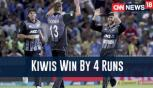 India Vs New Zealand: Kiwis Win By 4 Runs, Take Series 2-1 At Hamilton