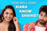 Kiara Advani takes the ultimate quiz on Shahid Kapoor | Kabir Singh movie interview