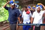 NDA and the UDF Candidates seek blessings of Lord Ayyappa