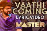 Master - Vaathi Coming Lyric Song
