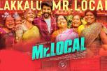 Mr Local Video Song in Tamil, Kalakkalu Mr Localu Video Song