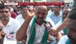 Farmers Protest Supporting Price For Red Jowar & Turmeric Crops