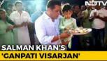 Salman Khan bids adieu to Ganpati with blockbuster 'Visarjan'