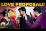 I LOVE YOU - Sidhu & Shreya Anchan Romantic Proposal At  Nakshatra Awards 2019 - Thirumanam