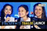 Frozen 2 Telugu Movie Trailer Launch - Sitara, Namrata, Nithya Menen
