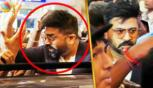 Simbu Met His Crazy Fans On His Birthday at Chennai Airport