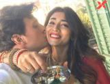 Shriya Saran celebrates Karwa Chauth for husband Andrei Koscheev