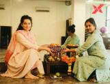 Kangana Ranaut performs Vijayadashami pooja at dance studio