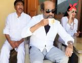 Rajinikanth visits Avatar Babaji cave as part of his spiritual tour