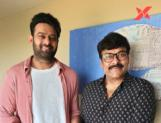Prabhas is back in Hyd. Will he take the hot seat to interview Chiranjeevi?