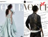 Mahesh and Nayanthara On Vogue Cover Page