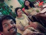 Spotted: Puri Jagannadh enjoys quality time with wife Lavanya and daughter Pavitra