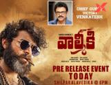 No mega-guests for Valmiki pre-release event?