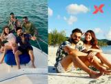 Virat Kohli and Anushka Sharma treats fans by sharing a series of photos from her exotic vacation