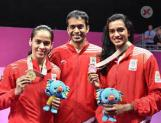 Gopichand misses Saina's reception! Is it because of Sindhu?