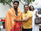 Actor Aari Celebrates an Organic Birthday at ALEKA shooting spot
