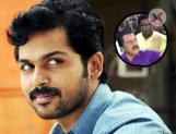 Actor Karthi speaks about his father Sivakumar's selfie dispute