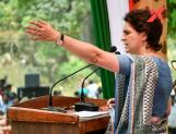 Priyanka Gandhi accuses BJP of shielding rapists
