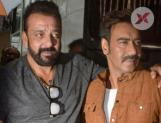 Ajay Devgn joins Sanjay Dutt on sets of Bhuj: The Pride of India