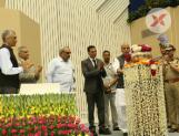 Rajnath Singh along with Akshay Kumar launches Bharat Ke Veer App