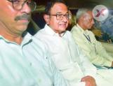 P Chidambaram brought to court after dramatic arrest