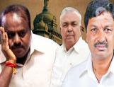 Revolutionary Congress leader Ramesh Jarakiholi makes contact with CM HD Kumaraswamy